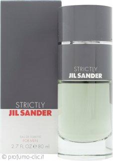 Jil Sander Strictly Eau de Toilette 80ml Spray