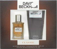 David Beckham Classic Confezione Regalo 40ml EDT + 200ml Gel Doccia