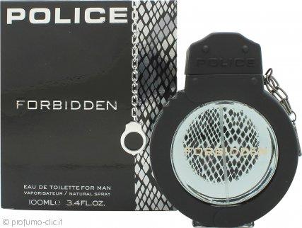 Police Forbidden for Man Eau de Toilette 100ml Spray