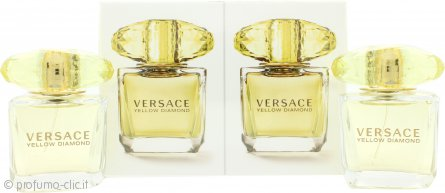 Versace Yellow Diamond Confezione Regalo 2 x 30ml EDT Spray