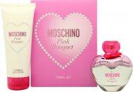Moschino Pink Bouquet Confezione Regalo 50ml EDT + 100ml Lozione Corpo