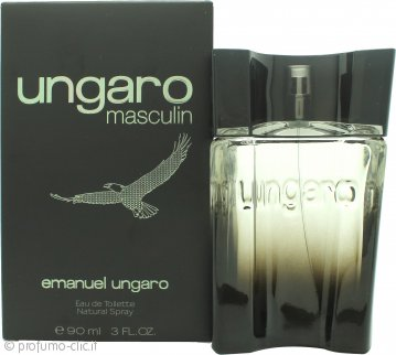 Emanuel Ungaro Masculin Eau de Toilette 90ml Spray