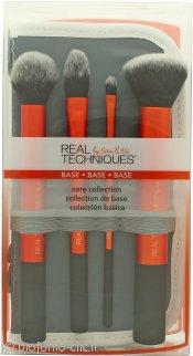 Real Techniques Core Collection Brush Confezione Regalo 4 x Pennelli