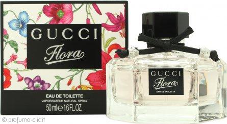 Gucci Flora Eau De Toilette 50ml Spray