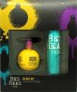 Tigi Bed Head Glow Up Confezione Regalo 240ml Motor Mouth Mega Volumizer + 340ml Masterpiece Massive Shine Hairspray