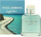 Dolce & Gabbana Light Blue Pour Homme Swimming in Lipari Eau de Toilette 125ml Spray