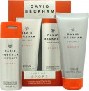 David Beckham Instinct Sport Confezione Regalo 150ml Deodorante Body Spray + 200ml Shampoo & Bagnoschiuma