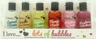 I Love... Lots of Bubbles Confezione Regalo 6 x 100ml Bagnoschiuma & Gel Doccia