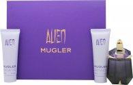 Thierry Mugler Alien Confezione Regalo 30ml EDP Ricarica + 50ml Lozione Corpo + 50ml Gel Doccia