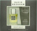 David Beckham Instinct Confezione Regalo 30ml EDT + 150ml Shampoo & Bagnoschiuma