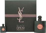 Yves Saint Laurent Black Opium Confezione Regalo 50ml EDP + 7.5ml EDP Spray da Viaggio