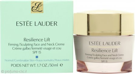 Estee Lauder Resilience Lift Firming Sculpting Crema Viso & Collo 50ml - Pelle Normale/Mista