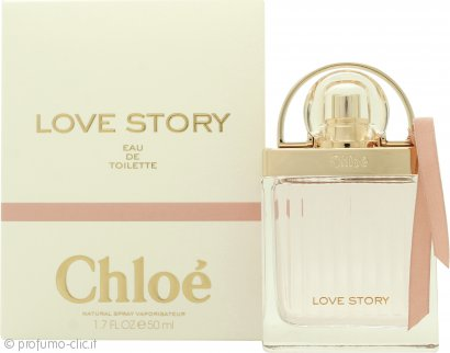 Chloe Love Story Eau de Toilette 50ml Spray