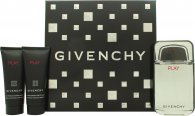 Givenchy Play Confezione Regalo 100ml EDT + 75ml Dopobarba + 75ml Gel Doccia