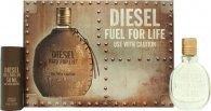 Diesel Fuel For Life Confezione Regalo 30ml EDT Spray + 50ml Gel Doccia
