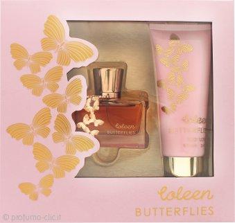 Coleen Rooney Butterflies Confezione Regalo 50ml EDT + 100ml Lozione per il Corpo