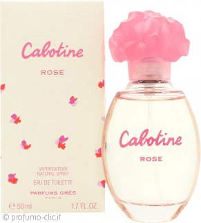 Gres Parfums Cabotine Rose Eau De Toilette 50ml Spray