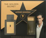 Antonio Banderas The Golden Secret Confezione Regalo 50ml EDT + 100ml Balsamo Dopobarba