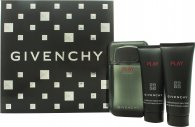 Givenchy Play Intense Confezione Regalo 100ml EDT + 75ml Bagnoschiuma + 75ml Gel Dopobarba
