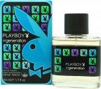 Playboy Generation For Him Eau de Toilette 50ml Spray