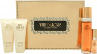 Elizabeth Taylor White Diamonds Confezione Regalo 100ml EDT + 100ml Lozione Corpo + 100ml Gel Doccia + 15ml EDP