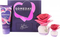 Justin Bieber Someday Confezione Regalo 50ml EDP + 100ml Lozione Corpo + 7.4ml Mini
