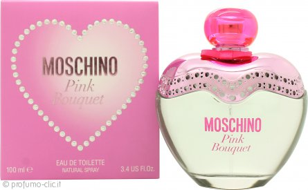 Moschino Pink Bouquet Eau de Toilette 100ml Spray