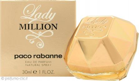 Paco Rabanne Lady Million Eau de Parfum 30ml Spray