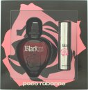 Paco Rabanne Black XS for Her Confezione Regalo 50ml EDT + 10ml Spray da Viaggio