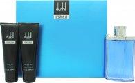 Dunhill Desire Blue Confezione Regalo 100ml EDT + 90ml Gel Doccia + 90ml  Balsamo Dopobarba