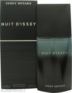 Issey Miyake Nuit d'Issey for Men Eau de Toilette 200ml Spray