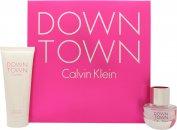 Calvin Klein Downtown Confezione Regalo 30ml EDP + 100ml Gel Doccia