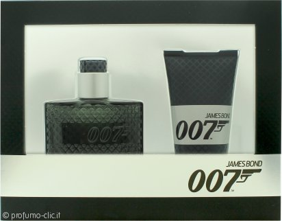 James Bond 007 Confezione Regalo 30ml EDT Spray + 50ml Gel Doccia