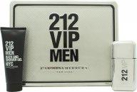 Carolina Herrera 212 VIP  Uomo Confezione Regalo 50ml EDT + 75ml Gel Doccia