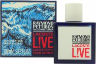 Lacost Live Eau de Toilette 100ml Spray - Raymond Pettibon Collectors Edition
