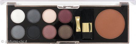 Sunkissed Eye Palette & Bronzer Confezione Regalo - Smoky Eyes 11 Pezzi