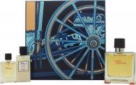 Hermes Terre D'Hermes Confezione Regalo 75ml EDP + 12.5ml EDP + 40ml Balsamo Dopobarba