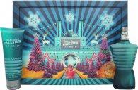 Jean Paul Gaultier Le Male Confezione Regalo 75ml EDT + 75ml All Over Gel Doccia (Edizione Natalizia)