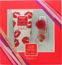 Naomi Campbell Cat Deluxe with Kisses Confezione Regalo 15ml EDT + 200ml Bagnoschiuma & Gel Doccia