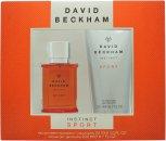 David Beckham Instinct Sport Confezione Regalo 30ml EDT + 200ml Gel Doccia