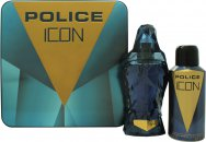 Police Icon Confezione Regalo 125ml EDP + 150ml Deodorante Spray