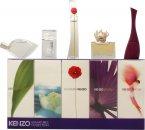 Kenzo Miniatures for Women Confezione Regalo 5ml L'eau Par EDT Splash + 4ml Amour EDP Splash + 3.5ml Parfum d'Ete EDP Splash + 4ml Flower EDP Splash + 5ml Jungle EDP Splash