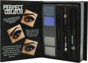 Jigsaw Perfect Colour Smoky Eyes Make Up Confezione Regalo - 8 Pezzi (Ombretto + Matita Occhi + Mascara + Applicatore)