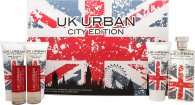 Jigsaw UK Urban City Edition Confezione Regalo 100ml EDT + 100ml Gel da Barba + 100ml Balsamo Dopobarba + 100ml Gel Doccia + 2 x 20ml Spray da Viaggio