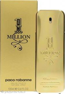 Paco Rabanne 1 Million Eau De Toilette 100ml Spray