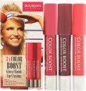 Bourjois Color Boost Confezione Regalo 3 x Lip Crayon