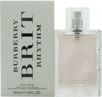 Burberry Brit Rhythm for Women Eau de Toilette 50ml Spray