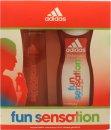 Adidas Fun Sensation Confezione Regalo 75ml EDT + 250ml Gel Doccia