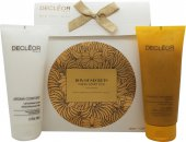 Decleor Box Of Secrets Duo Confezione Regalo 200ml Aroma Confort Latte Corpo Idratante + 200ml 1000 Grano Corpo Esfoliante