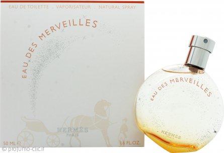 Hermes Eau Des Merveilles Eau de Toilette 50ml Spray